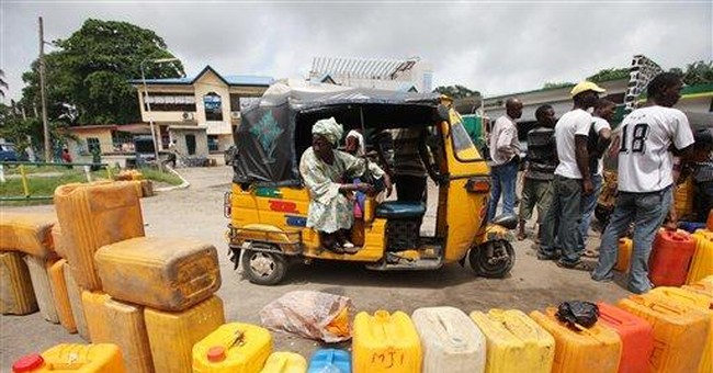 Kerosene out of reach for oil-rich Nigeria's poor