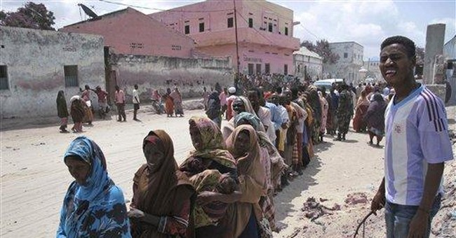 UN races to get food to hungry Somali refugees