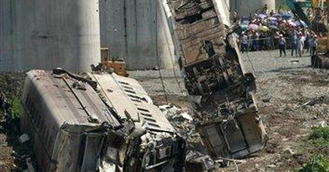 China orders safety inspections after train crash
