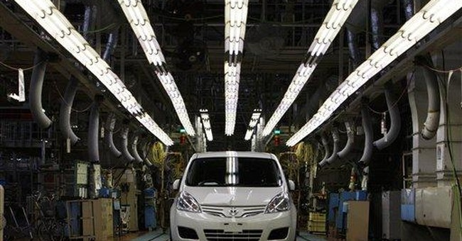 Japan automakers output on the mend after disaster
