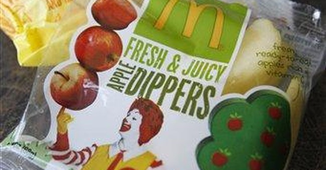 First lady lauds McDonald's on Happy Meal changes