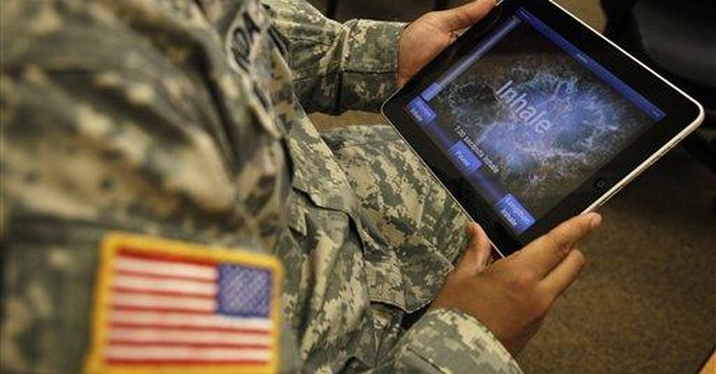 Invisible wounds of war: There's an app for that?