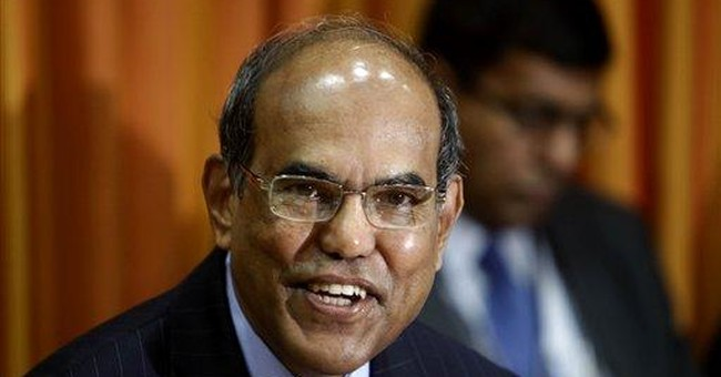 India central bank raises key interest rate