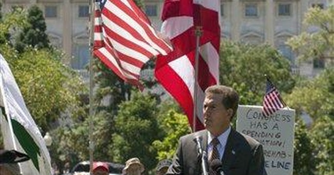 DeMint directs tea party drive on debt, deficits