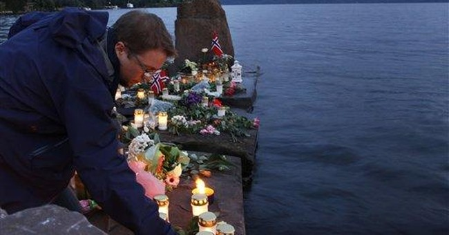TV cameraman didn't know Norway killer was on tape