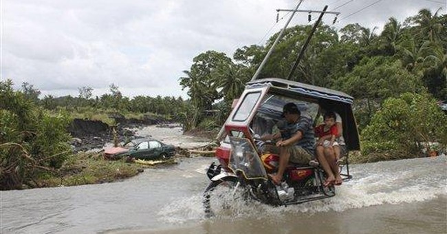 Slow Philippine storm leaves 25 dead, 31 missing