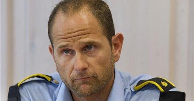 Norway gunman surrendered with hands held high
