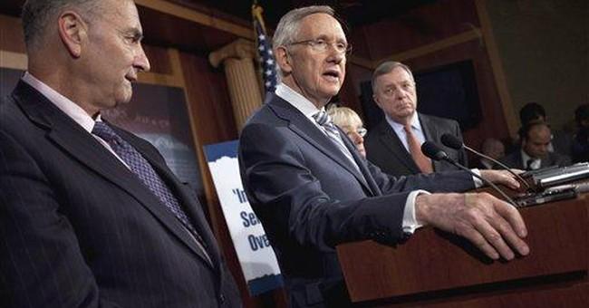 Reid: House GOP debt plan doomed in Senate