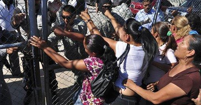 Smuggled women, guns marked Mexican prison riot