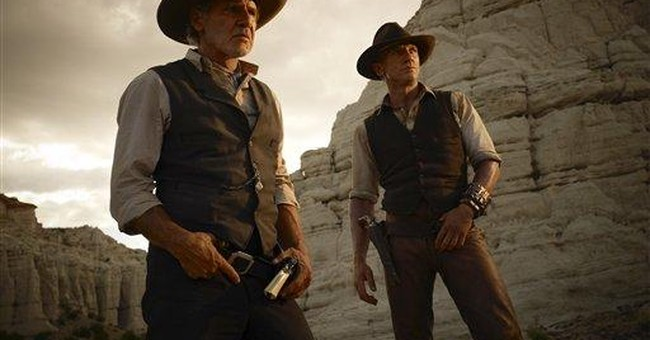 Box Office Preview: 'Cowboys' to outdraw 'Smurfs'