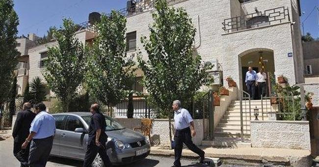 Palestinian police raid home of president's rival