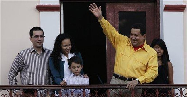 Eying support, Venezuela's Chavez urges moderation