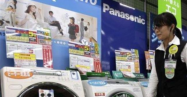 Panasonic reports quarterly loss on quake, tsunami