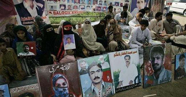 HRW: 'Disappeared' still haunt Pakistani province