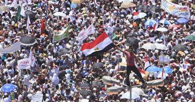 Ultraconservative Muslims dominate Egypt protest