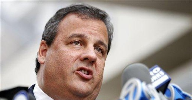 NJ governor says he's feeling 'fabulous'