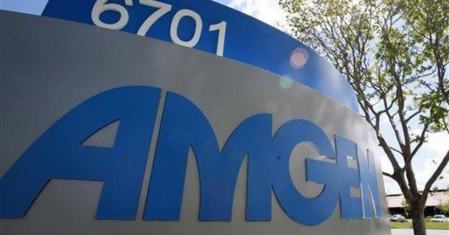 Amgen's 2Q profit falls 3 pct on rising R&D costs