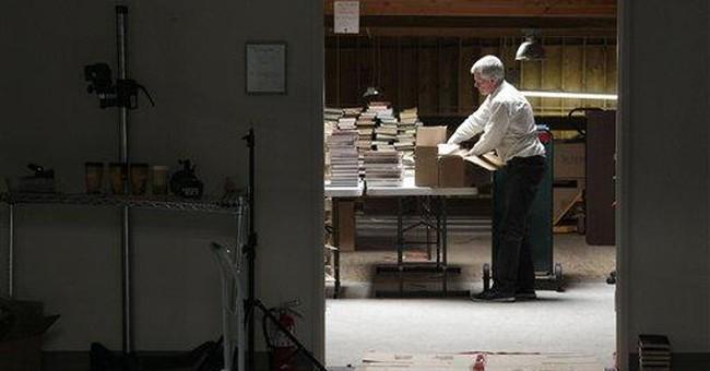 Internet archivist seeks 1 of every book written