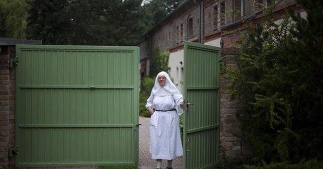 German nuns bake for papal visit