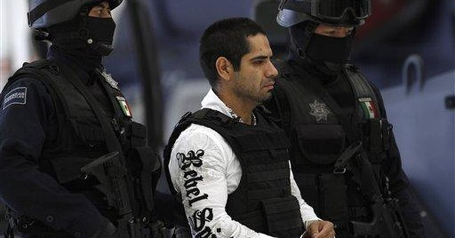 Mexico says a top Juarez cartel figure captured