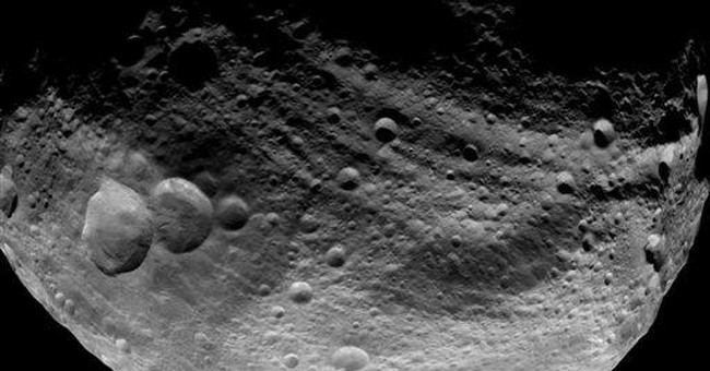 Dawn spacecraft gets cozy with massive asteroid