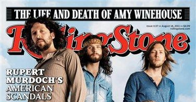 The Sheepdogs win Rolling Stone cover contest