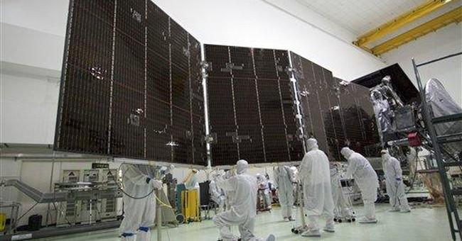 NASA going green with solar-powered Jupiter probe