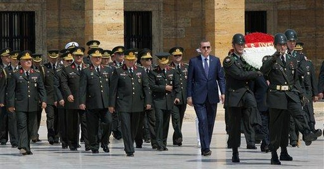 Turkey appoints new military commanders