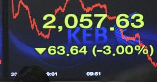 Global stocks drop again on US economy fears