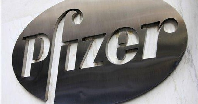 Pfizer 2Q net up 5 pct. on lower charges, taxes