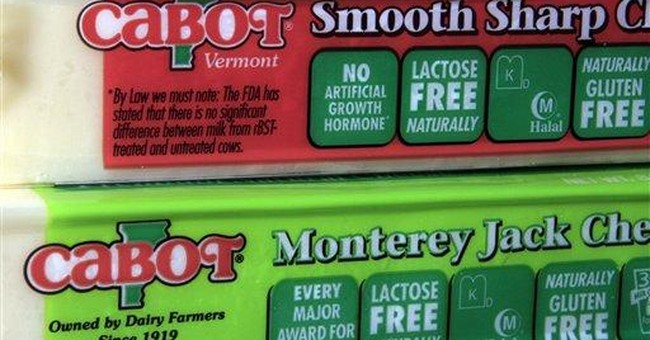 Vt. cheese-maker to scale back milk hormone claims