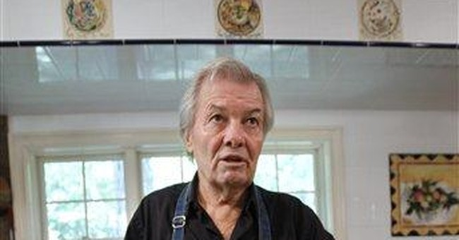 For Pepin, cooking is about technique, not stardom