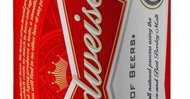 Budweiser can redesigned