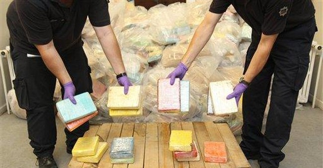 UK seizes record 1.2 tons of cocaine on boat