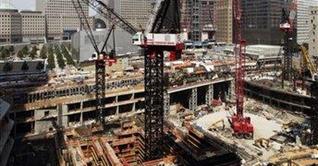 Work stoppage continues at WTC site for 3rd day