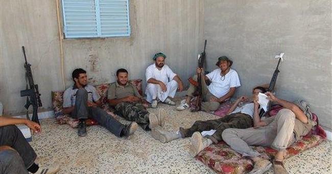 Rebels launch push in western Libya, aim for coast