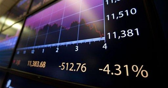 Wall Street plunge could worsen economy's troubles