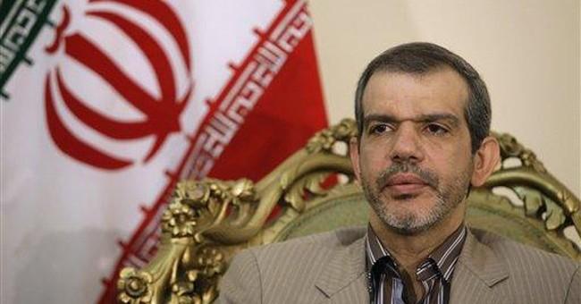 AP Interview: Iran envoy sees release for 2 US men