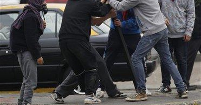 Chile police, students clash in banned protests