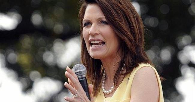 Bachmann: Improving economy 'won't take that long'