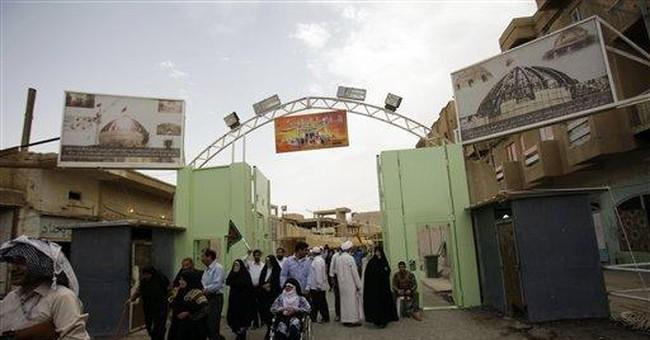 Shiite shrine expansion pushes out Sunni neighbors
