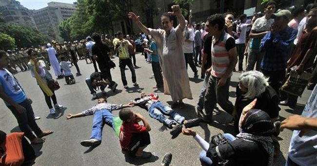 Egypt's army drives activists from Tahrir Square