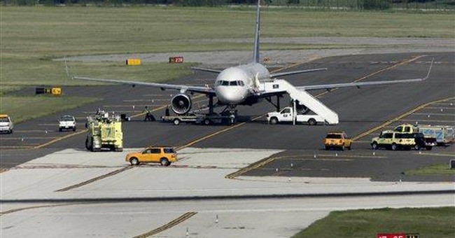 US Airways plane evacuated in Pa. given all clear
