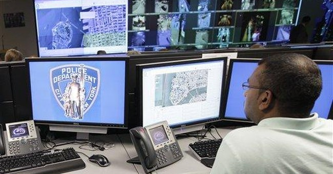 In NYC, a police force just for ground zero