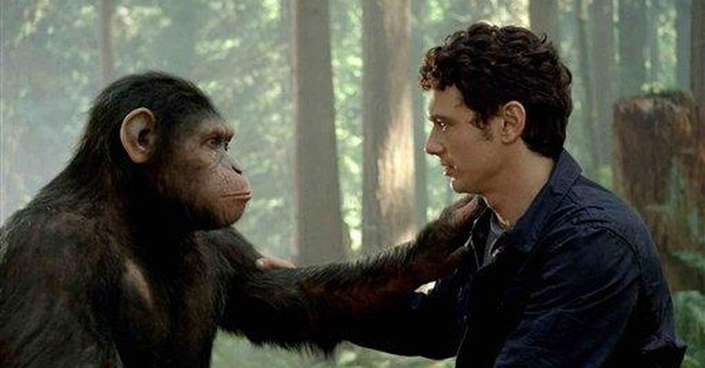 'Apes' rise to No. 1 this weekend with $54 million