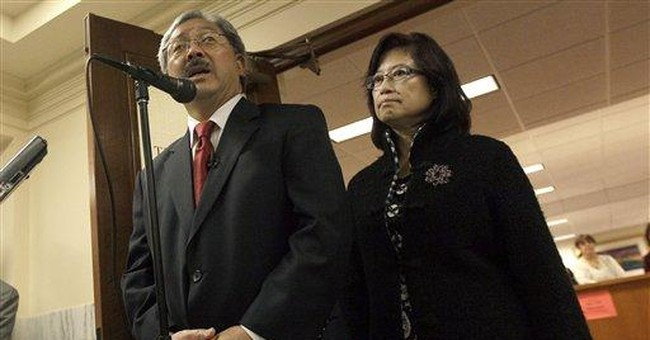 Ed Lee files papers to run for San Francisco mayor
