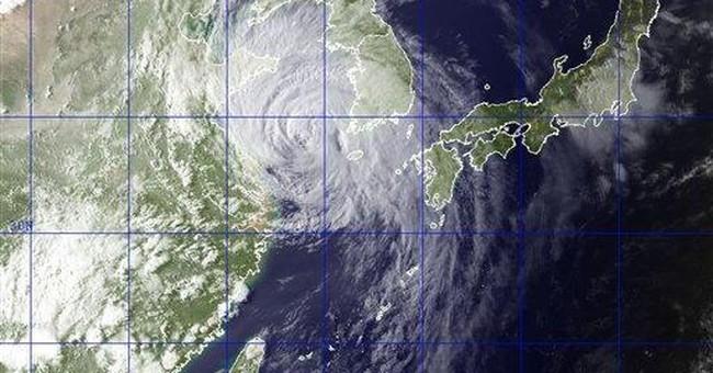 Tropical storm brings rain, wind to China, Koreas