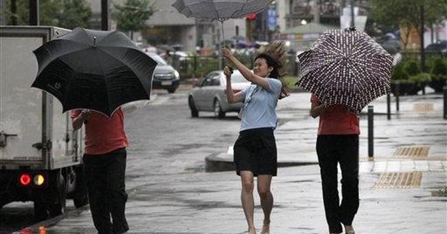 NKorea: Tropical storm causes casualties, damage