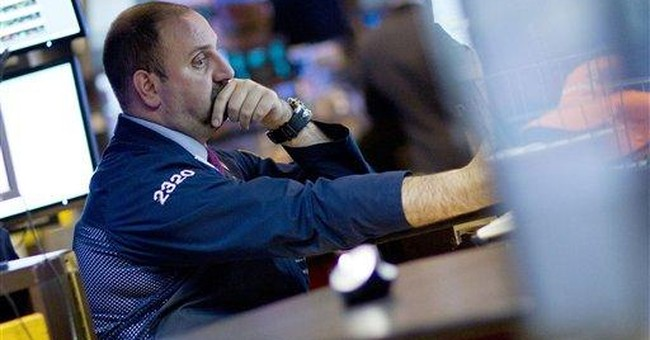Dow plunges more than 634 points after downgrade