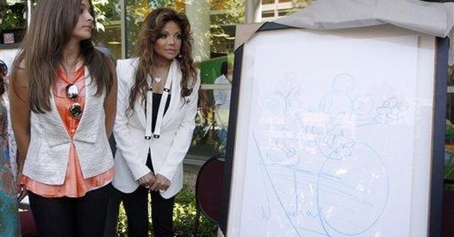 LA children's hospital gets art by Michael Jackson